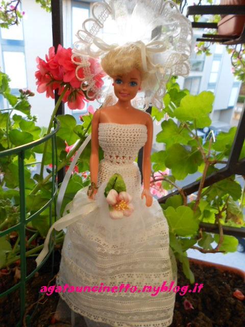 Vestito Barbie Uncinetto Agatauncinetto